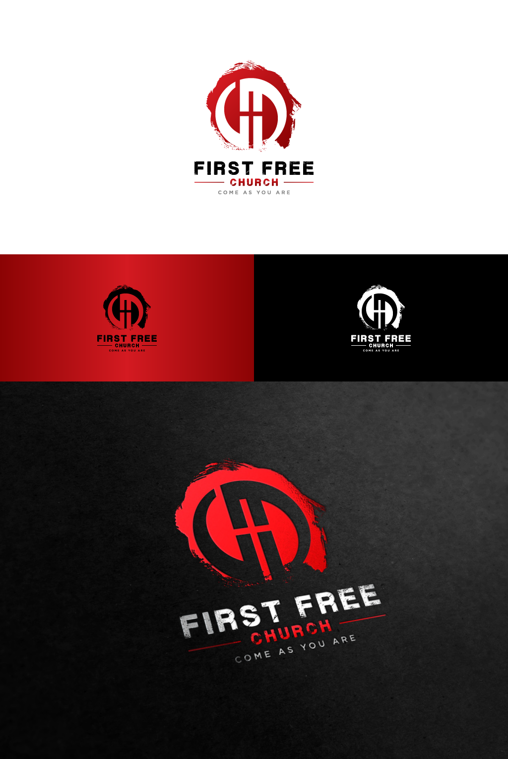 Create the next logo for First Free Church