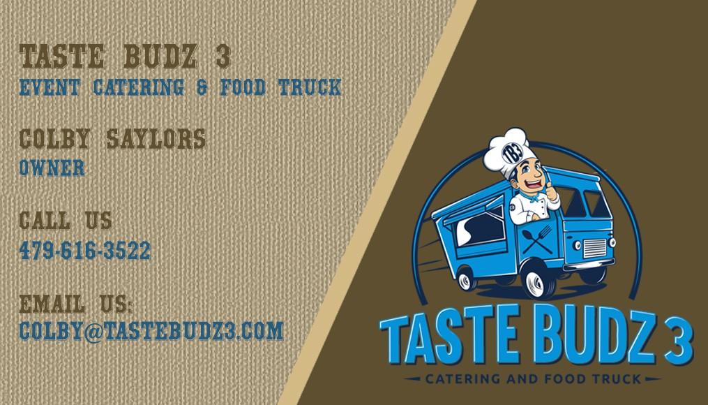 Business Card for Taste Budz 3
