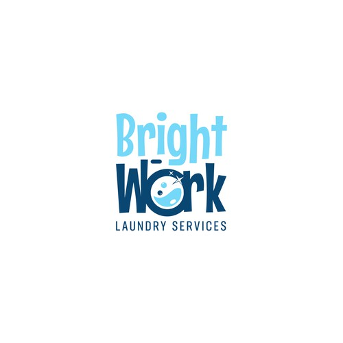 Logo For Bright Work Laundry Services