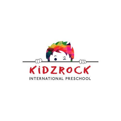 Logo for KidzRock International Preschool