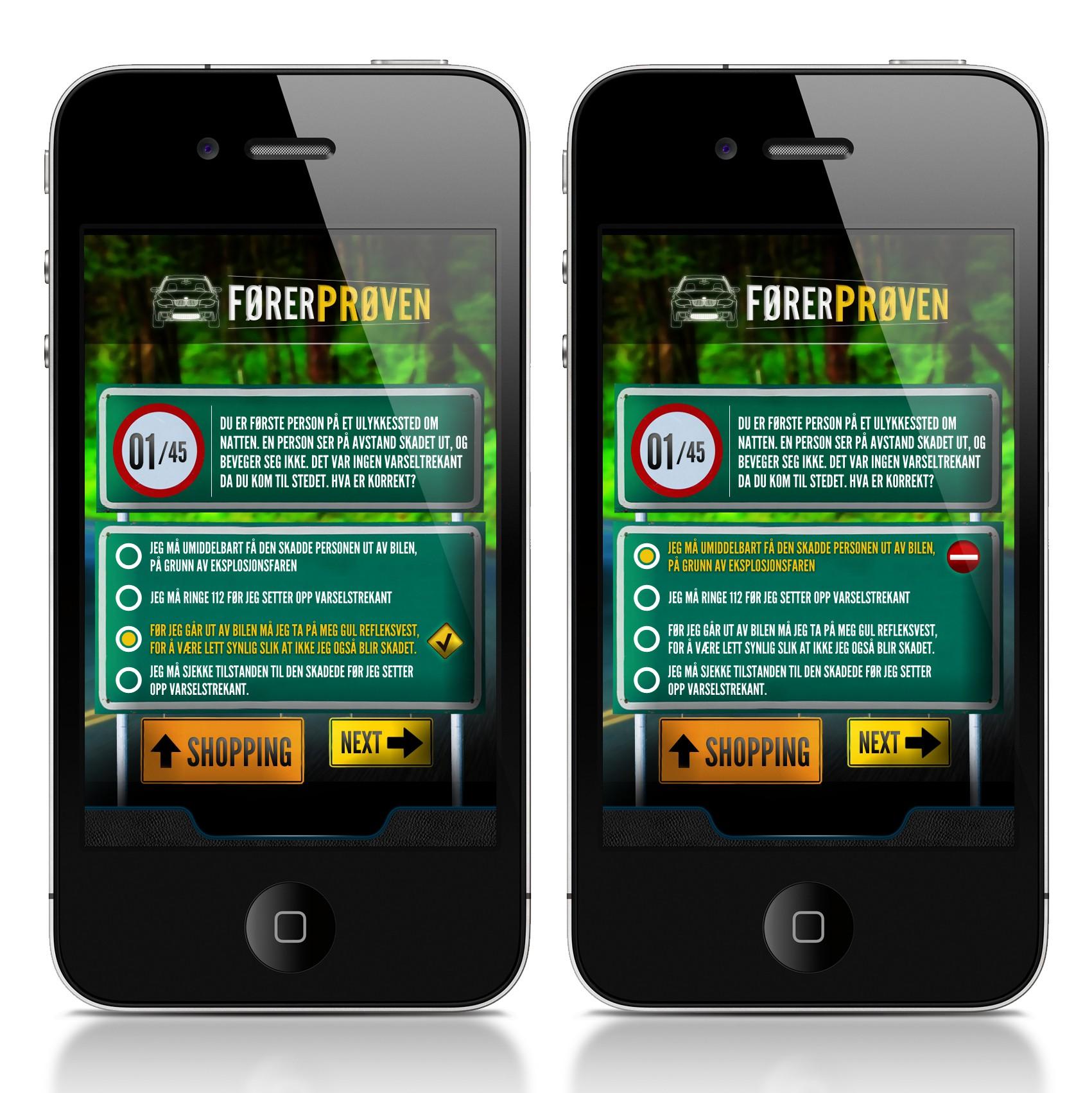 Alien Nude LTD needs a new mobile app design