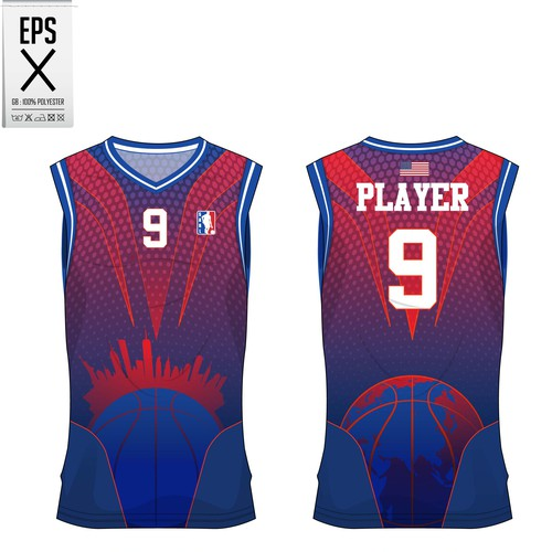 basket ball jersey