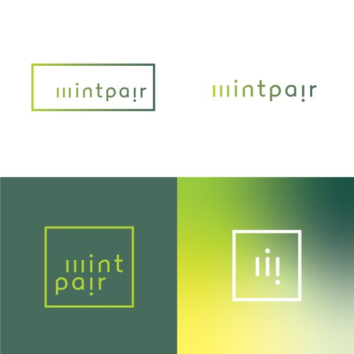 Mintpair Wordmark logo for Apparel Brand