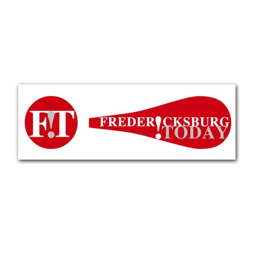 Create a new, exciting, something-different logo for Fredericksburg.Today online news!