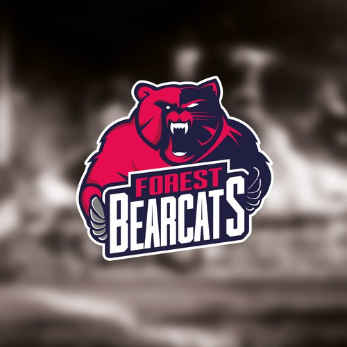 Concept for Forest BearCats logo