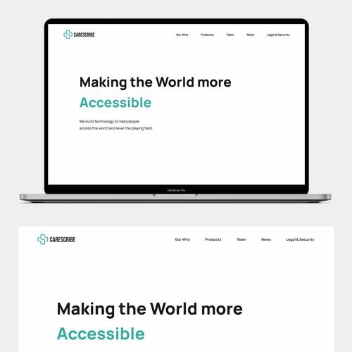 Lightmode Website Design