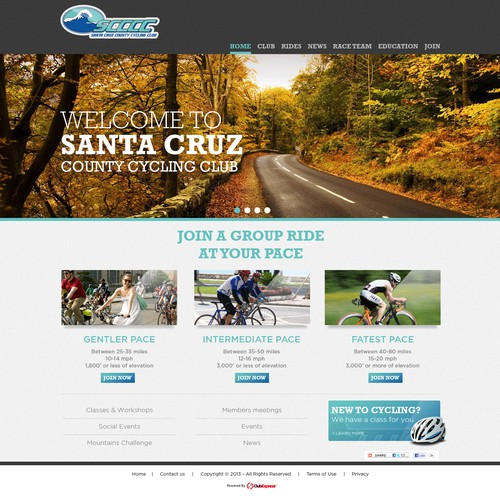 Santa Cruz County Cycling Club website
