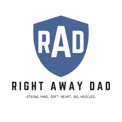 Bold Yet Simple + Economic Logo Concept for RAD
