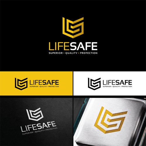 "Creative new logo for ""Life Safe""."