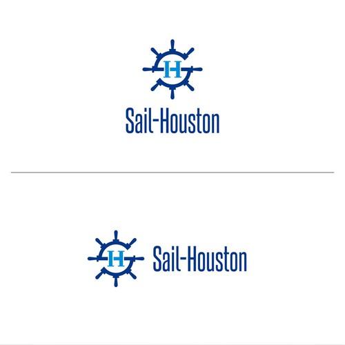 Sail Houston Logo Design