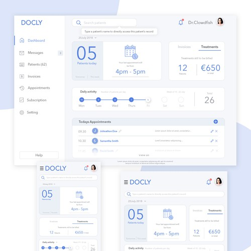 Docly dashboard
