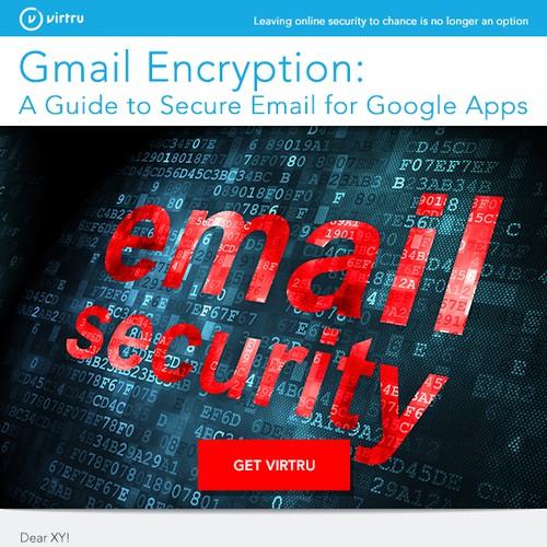 Virtru email design