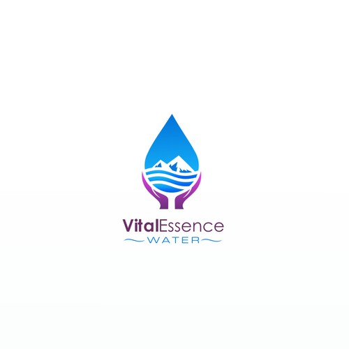 vital essence water concept