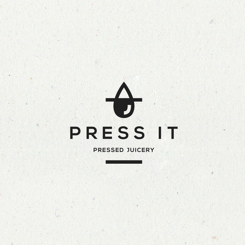 Bold logo proposal for a cold press juice business.