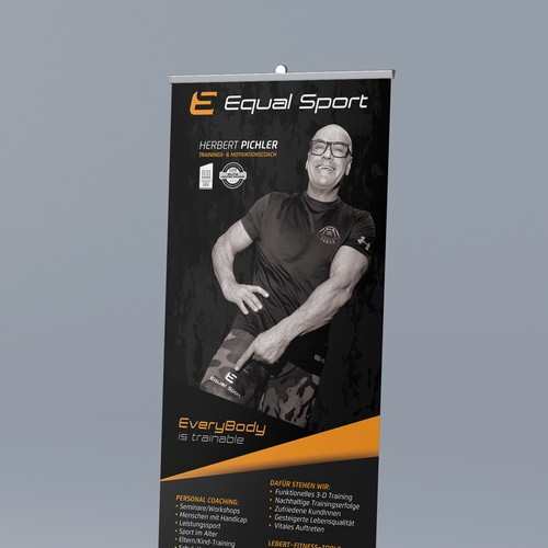 Equal Sport RollUp design
