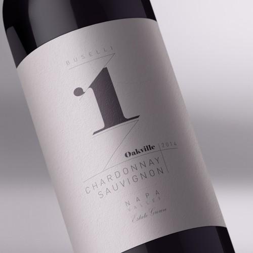 Wine Label for a Prestigous Winery