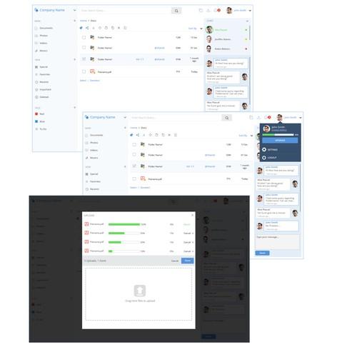 File sharing web application