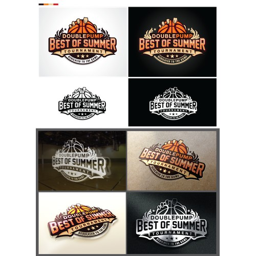Basketball Company Needs a Cool Event Logo Graphic (#4)