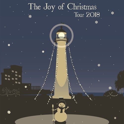 Poster Concept for The Joy of Christmas Tour 2018