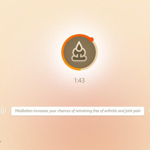 Meditation Music needs a new website design