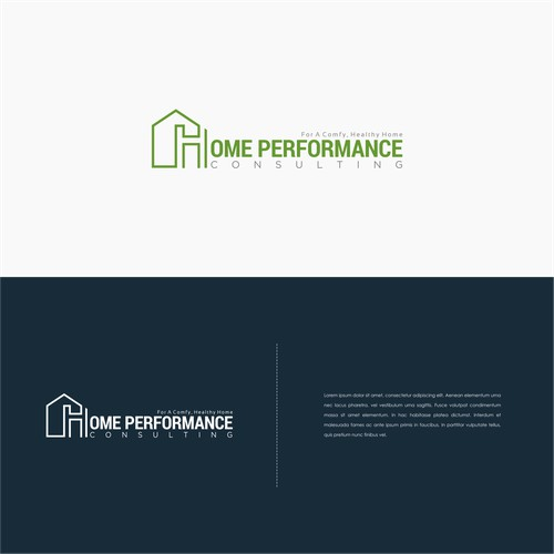 Home {erformance Logo Concept