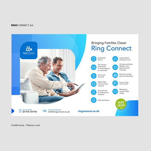 Ring Connect Magazine Ad