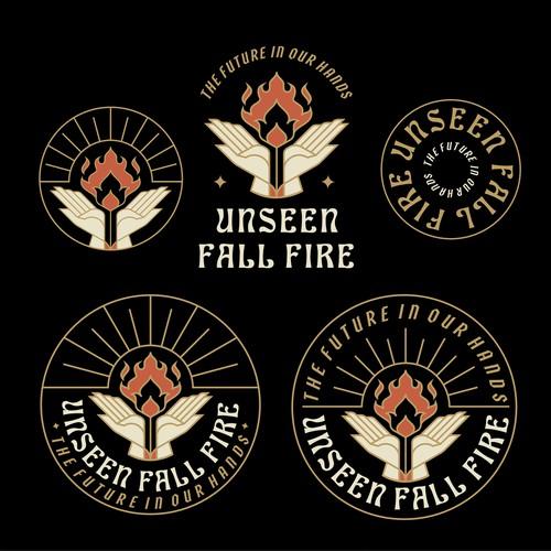 Unseen Fall Fire Event Logo