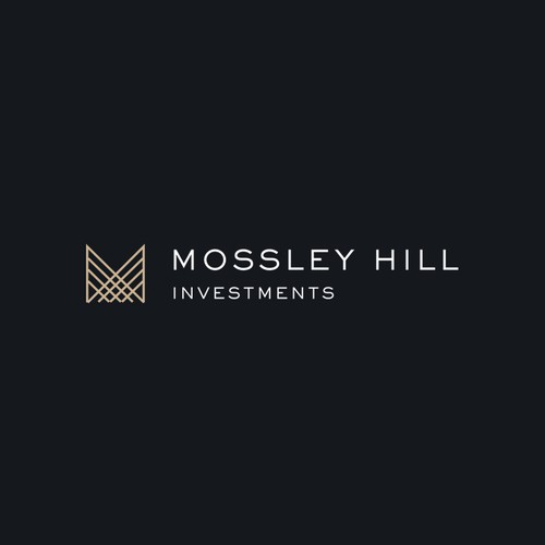 Minimal monogram and logotype for property investment company