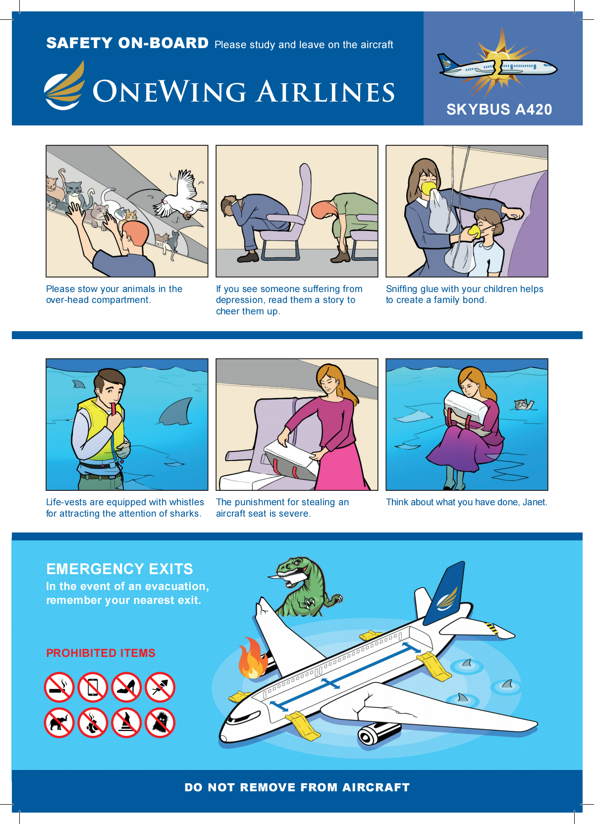 In-Flight Safety Card