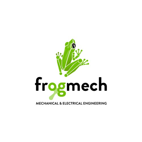 Logo concept for electronic and engineering company