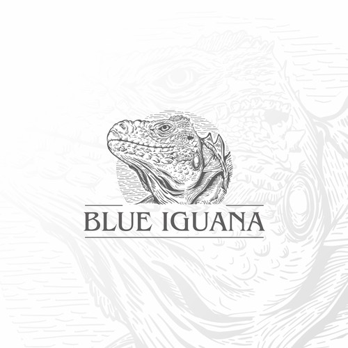 logo for Blue Iguana