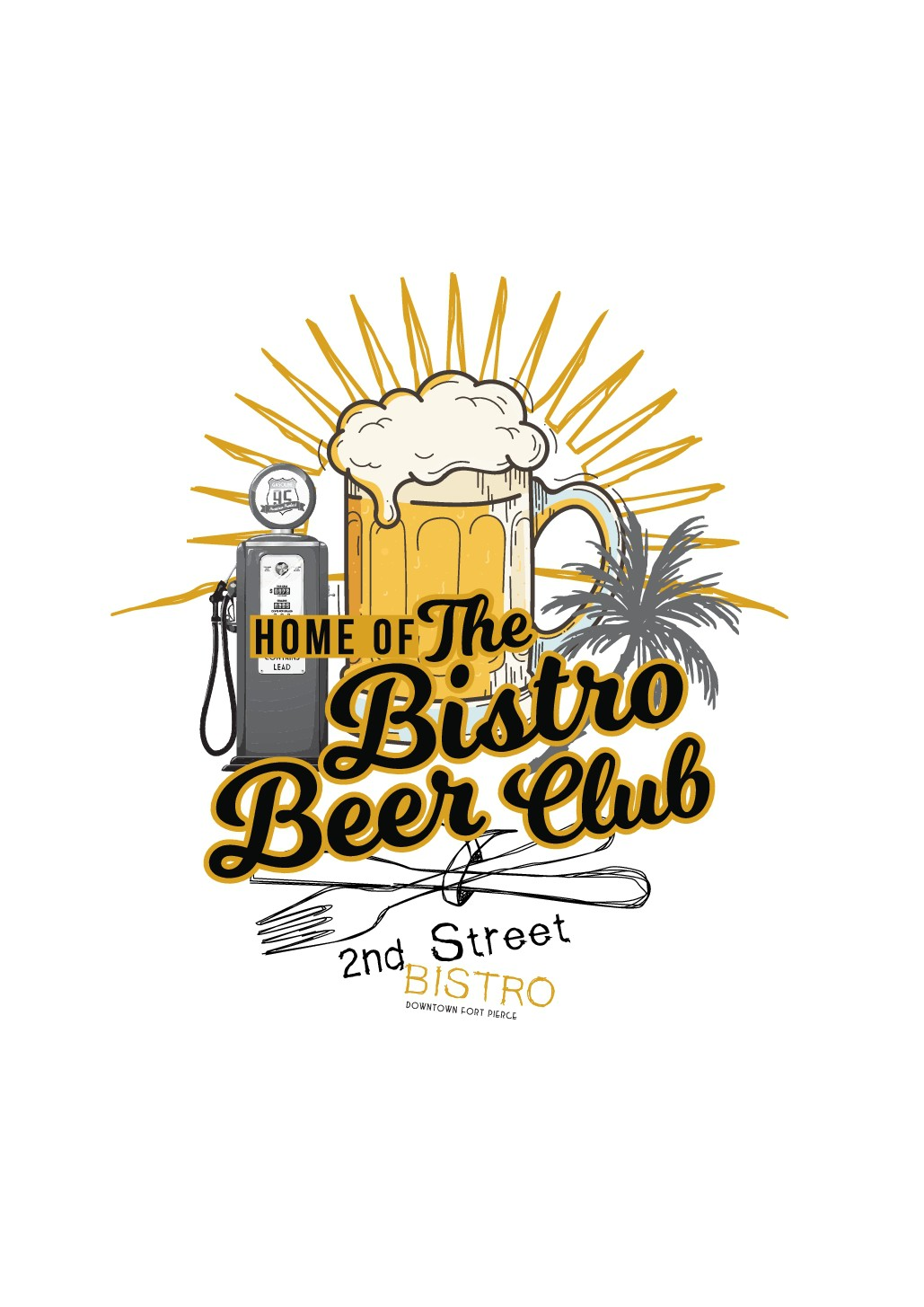 2nd Street Bistro Retail T-shirts and hats for sale