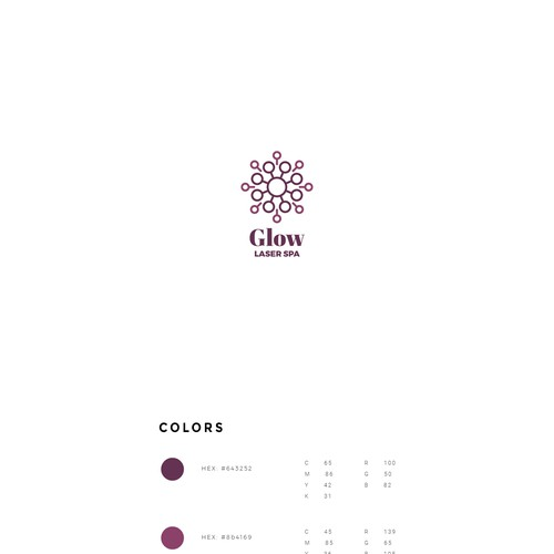 modern logo for a beauty company