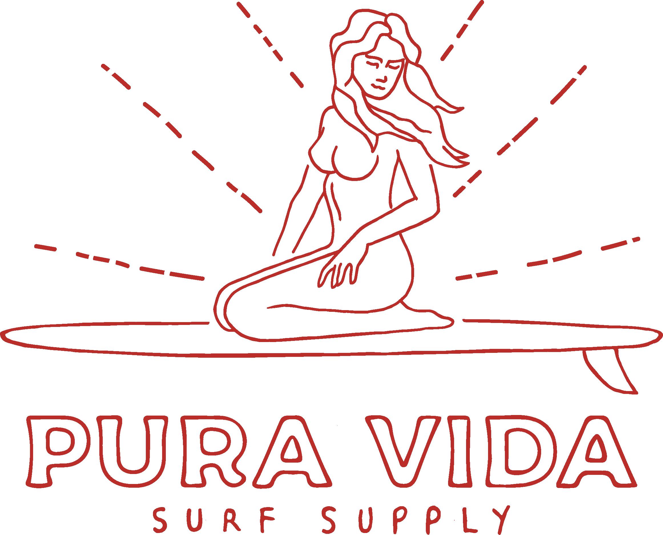 Design an iconic logo for Pura Vida Surf Supply