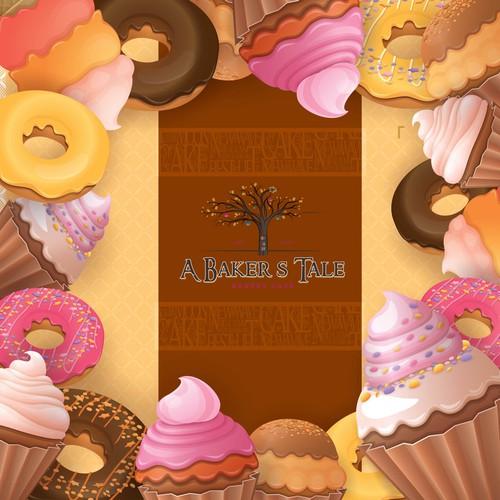 Storybook Bakery with an Alice in Wonderland Twist - Cookie Packaging