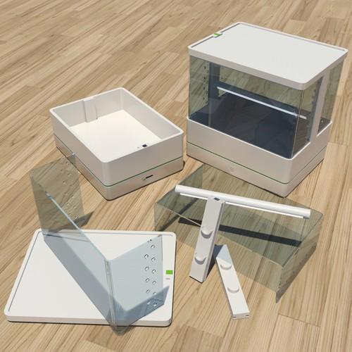 Beautiful HomeGarden 2.0: 3D product design + 3D rendering