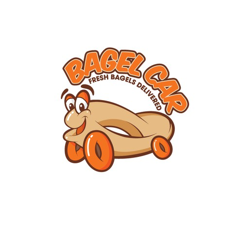 Create a FUN logo for a food delivery company