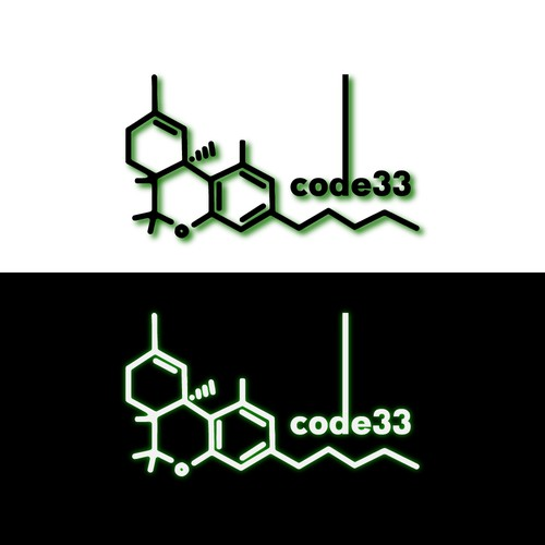 Logo concept for medical marijuana company