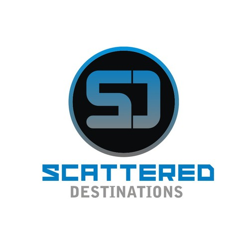 Scattered Destinations needs a logo that illustrates connection between various people and careers.
