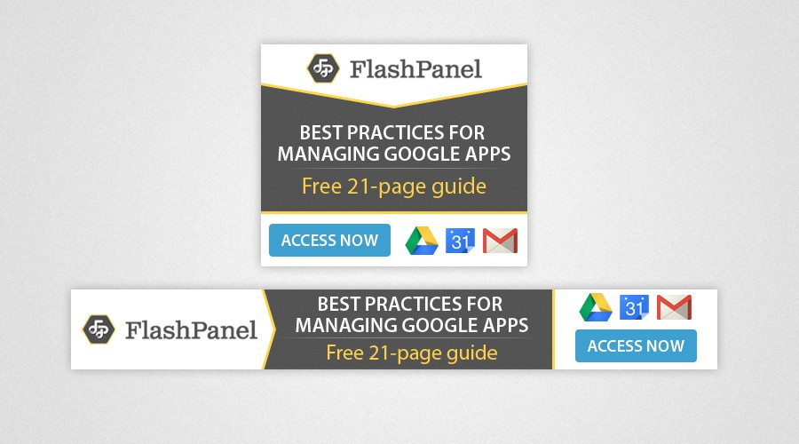 Help the #1 Google Apps Admin Tool Distribute a Free Resource Through Amazing Banners!