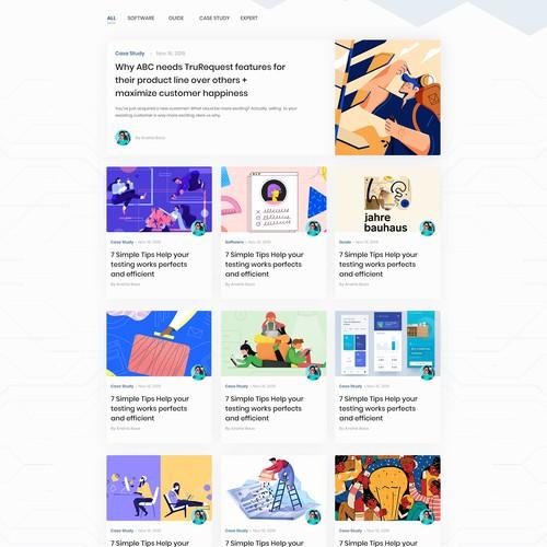 TruTesta WordPress Blog Redesign & Development