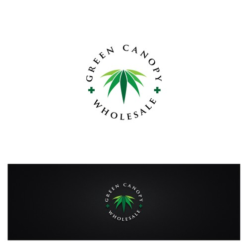 Logo concept for Green Canopy Wholesale