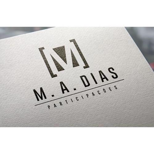 Logotipo M. A. DIAS
