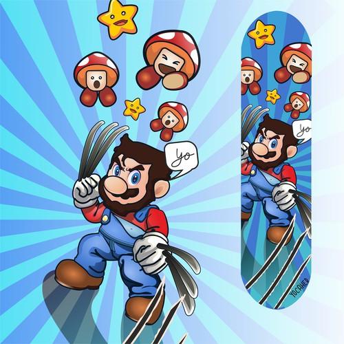Mario Wolverine Bro Yo
