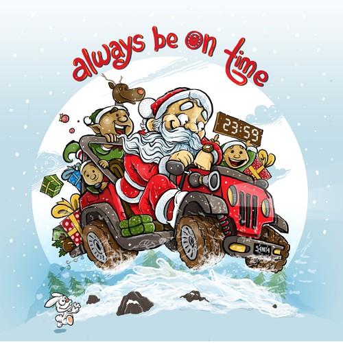Christmas - jeep