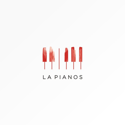 logo concept for la pianos