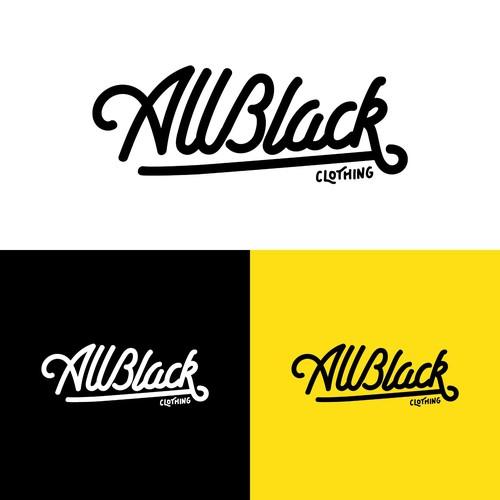 Allblack Logotype Concept