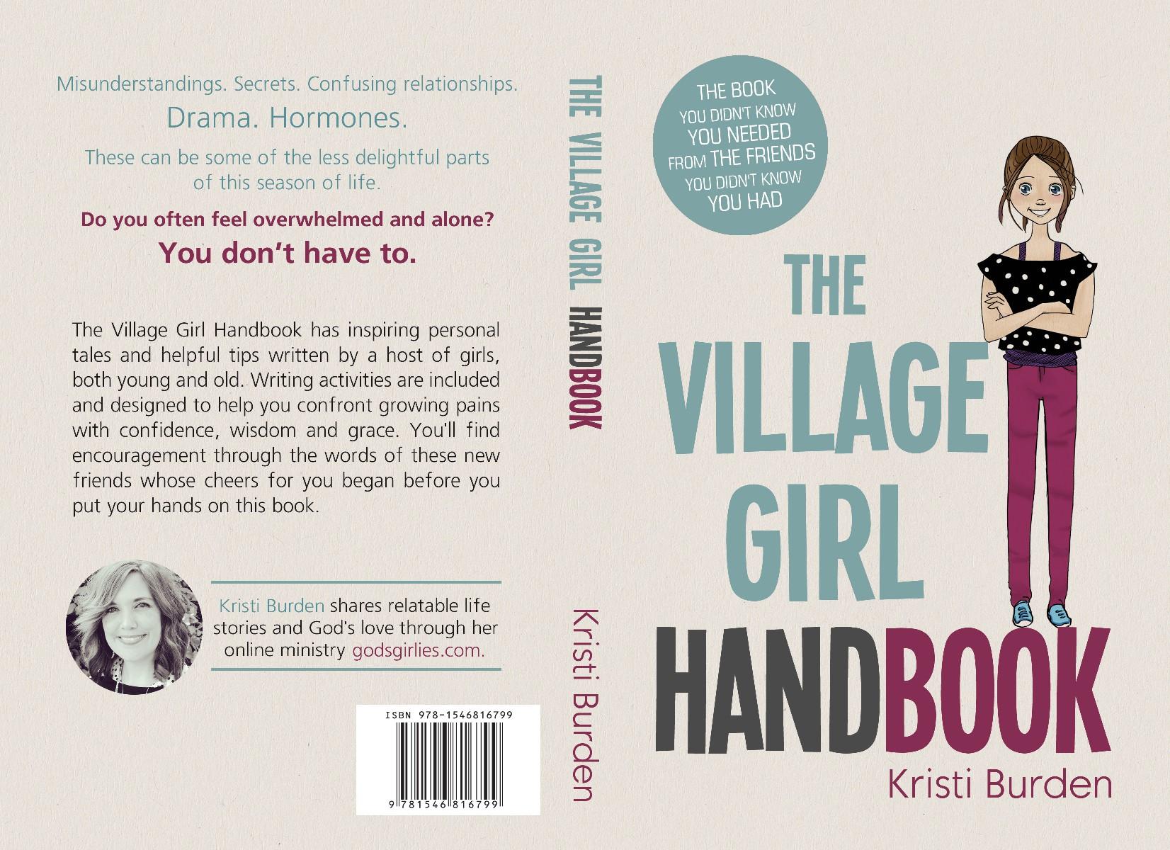 """Design a book cover for """"The Village Girl Handbook"""""""