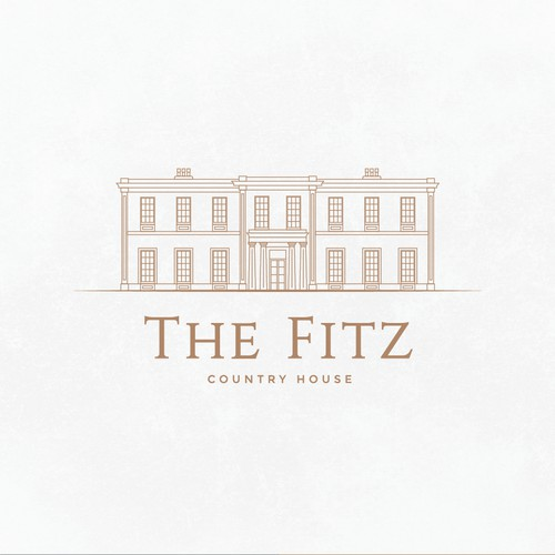 Luxurious logo for a country house