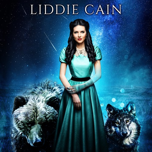 Book cover design - Redemption of a Wrangled Spirit by author Liddie Cain